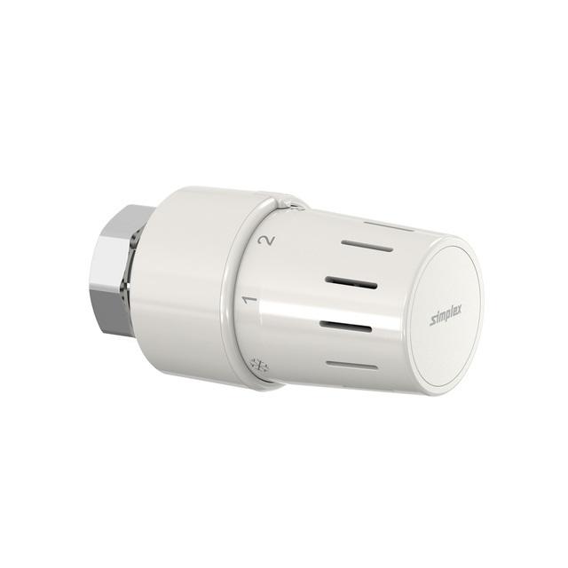 SX Standard-Thermostatkopf TC-S3 weiß M30 x 1,5 mit Nullstellung