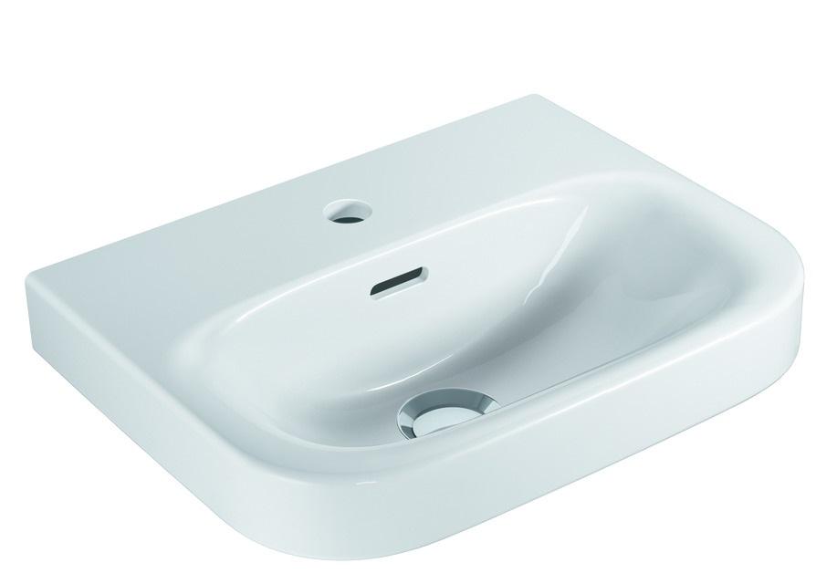 VIGOUR Handwaschbecken Derby Weiss 45 x 35 cm