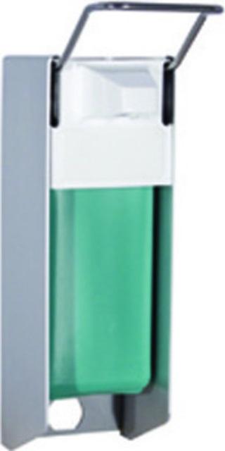 TRINNITY Desinfektionsspender Aluminium mit Armhebel